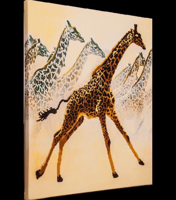 Жирафы вышивка значение 28