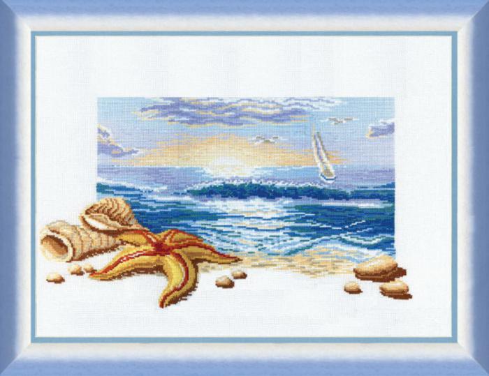 Картины для вышивки крестом море