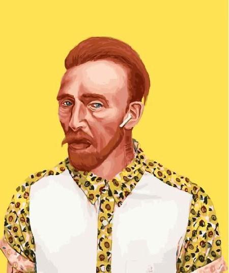 Картина по номерам Ван Гог 21 века 40х50 см купить, в Украине